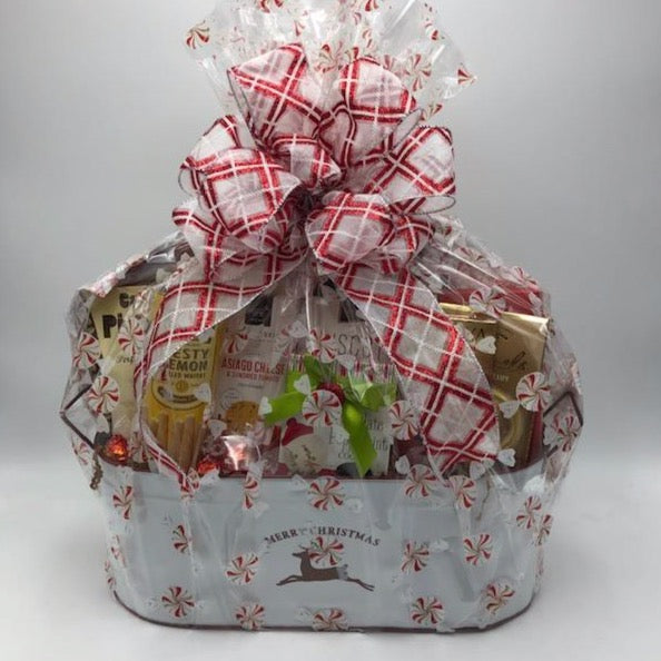 Reindeer Treats Gift Basket
