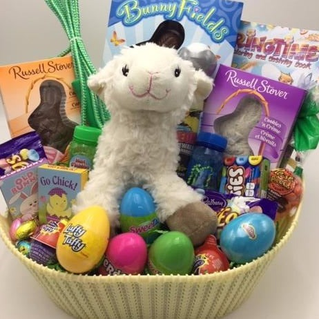 Easter Sharing Gift Basket - Not Just Baskets