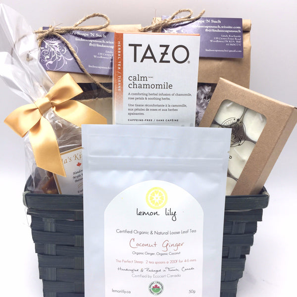 Relaxing Gift Basket - Not Just Baskets