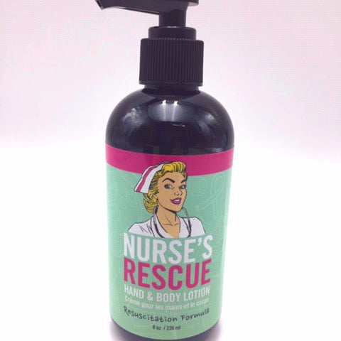 Nurses Rescue Hand & Body Lotion - Not Just Baskets