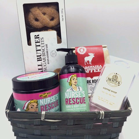 A pick-me-up Gift Basket - Not Just Baskets