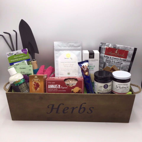 Gardening and Goodies Gift Basket - Not Just Baskets