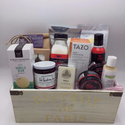 Complete Spa Gift Basket - Not Just Baskets
