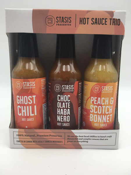 Stasis Hot Sauce Trio - Not Just Baskets