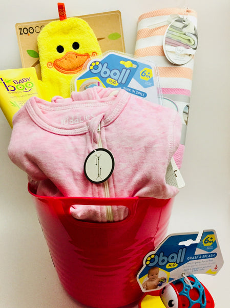Tub Fun Baby Girl Basket - Not Just Baskets