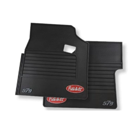PBL0G0579 – Peterbilt set of rubber floor mats for truck model 579