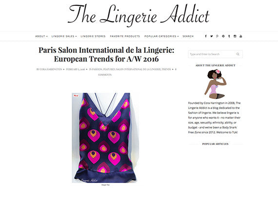The Lingerie Addict