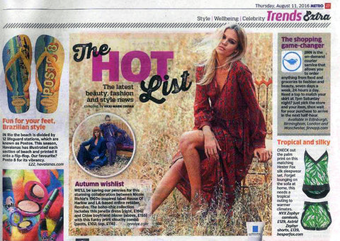 Metro features Hesper Fox