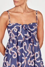 Acacia Navy Cotton Sundress