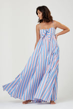 Acacia Dress Multi Stripe