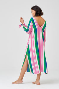 Arabella Striped Dress
