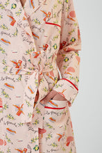 Cassis Cotton Robe Saint Tropez Print