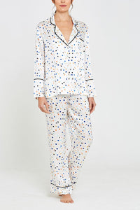 Lisbon Pebble Print Evie Pyjamas Front Set