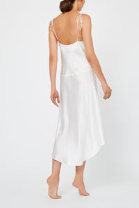 Aurora Ivory Silk Nightdress