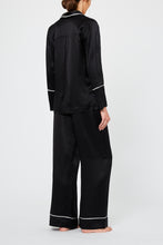 Dietrich Black Silk Pyjama Set