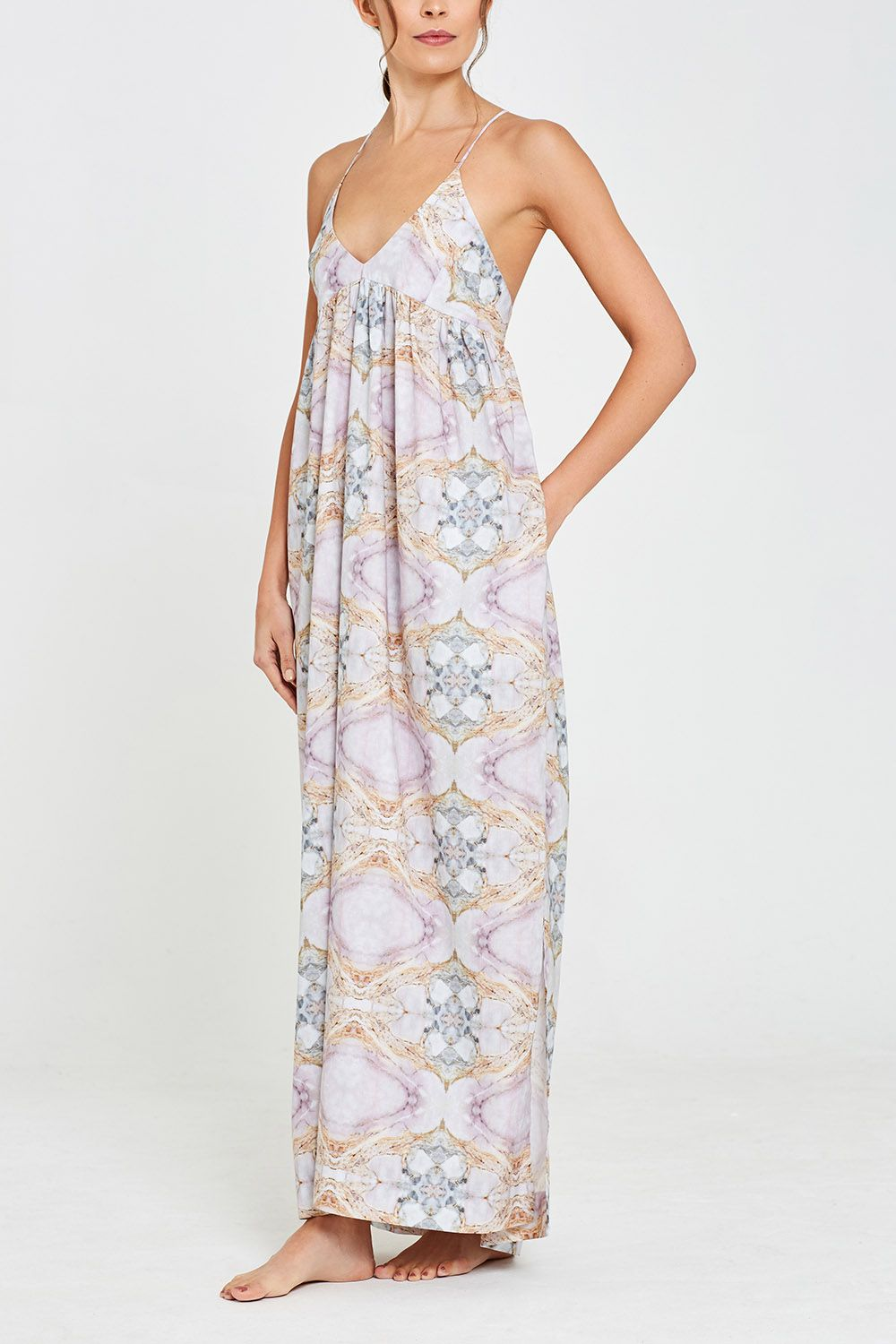 Iris Dress Marble Resort 18 Front