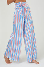 Saskia Multi Striped Cotton Trousers