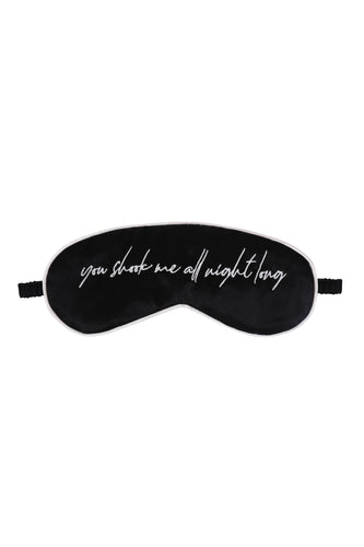 You Shook Me Silk Sleep Mask