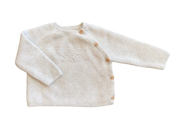 Olen Preloved Cotton Sweater Set, 6-9 months
