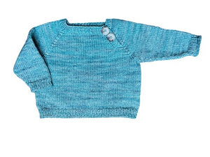 Olen Preloved Hand-Knitted Sweater, 6 months