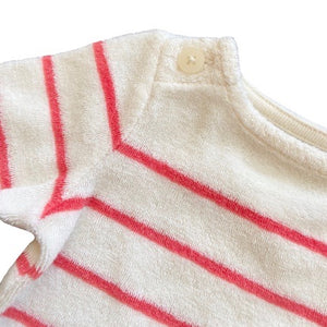 Olen Preloved Terry Striped 3/4 Sleeve, 0-3 months