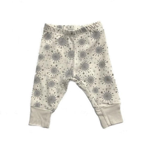 organic baby clothes leggings Kupla print. Made from cotton. Soft and luxurious