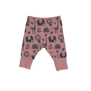 On the Go Legging in Piha Print, Apricot