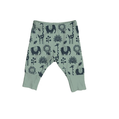 On the Go Legging in Piha Print, Green Tea