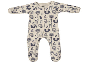 You Snooze You Win PJ in Piha Print, Natural
