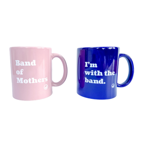 Mama mugs pink and blue. Perfect gift for mothers!