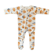 Organic baby clothes pajamas onesie. Soft PJ's that are non-irritating and made with love.