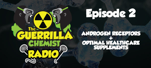 Guerrilla Chemist Radio, Episode 2: Androgen Receptors + Optimal Healthcare Supplements