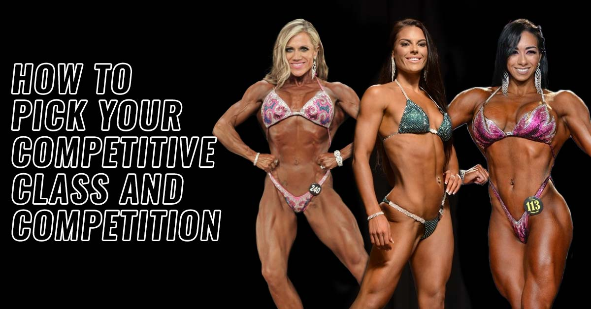 How to Pick Your Women's Bodybuilding Division