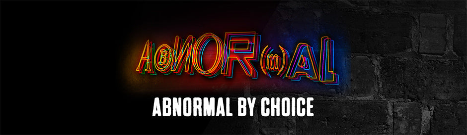 Blackstone Labs Abnormal - Abnormal By Choice Banner