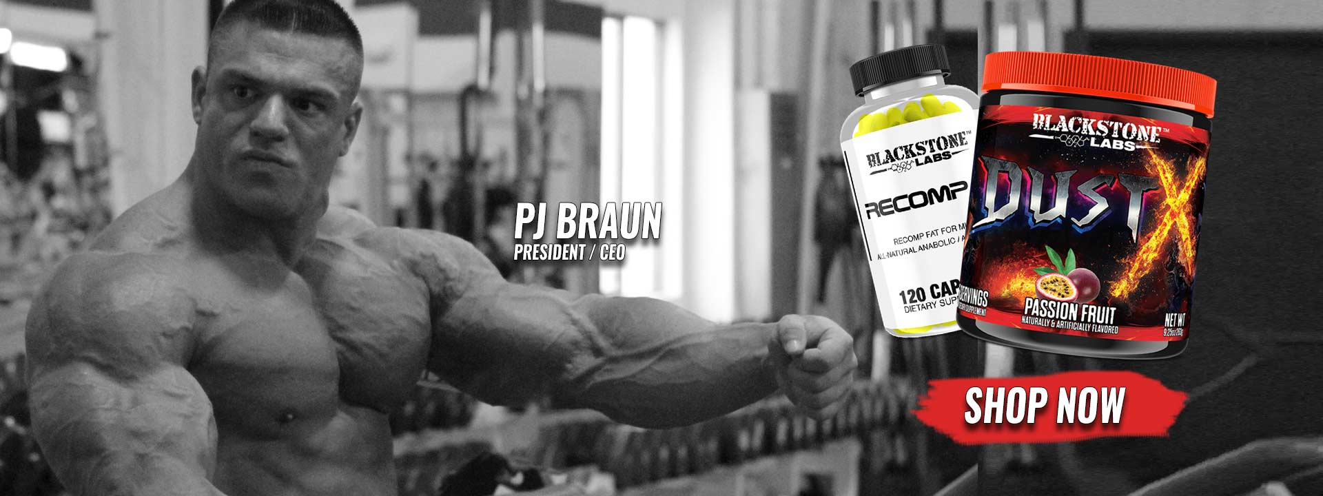 Blackstone Labs PJ Stack of the Month