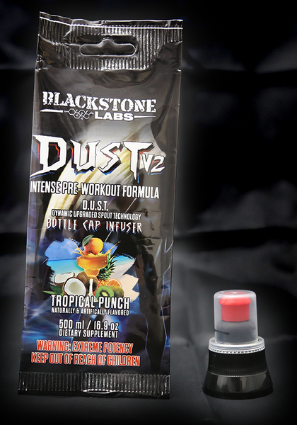 Blackstone Labs | Dust v2 GO | Ready to Mix Caps | Intense Pre-Workout