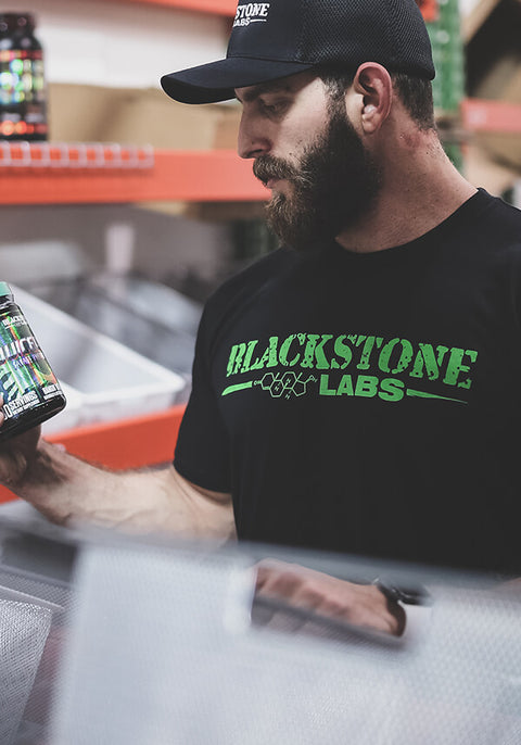Green Blackstone Labs Logo Tee