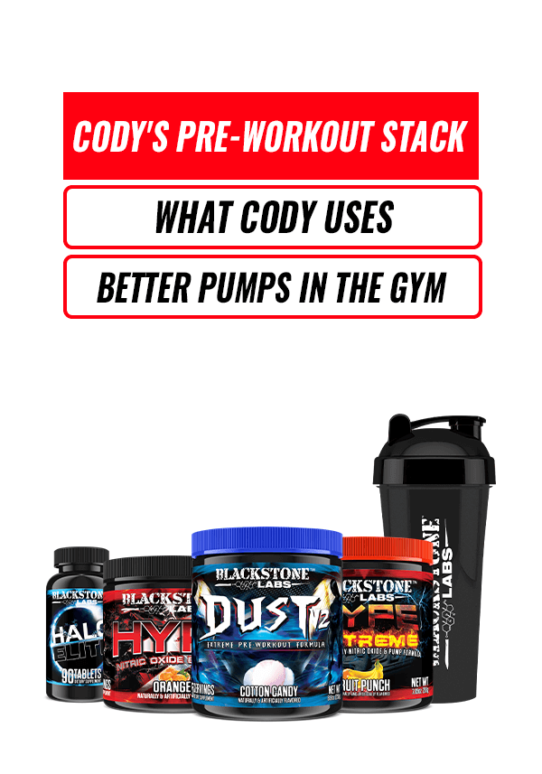 Cody's Pre-Workout Stack
