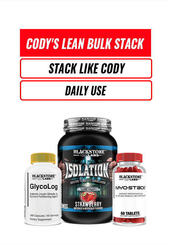 Cody's Lean Bulk Stack