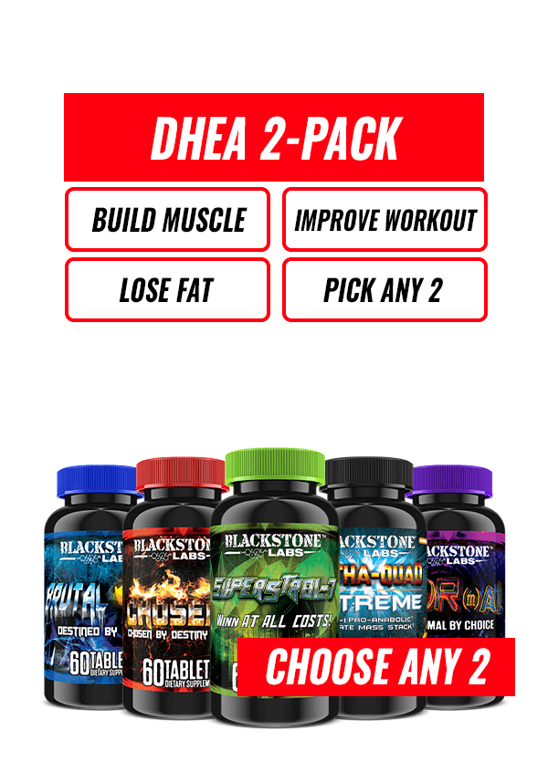 DHEA 2-Pack Stack