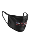 Blackstone Labs Face Mask - Red, White, and Blue Lettering