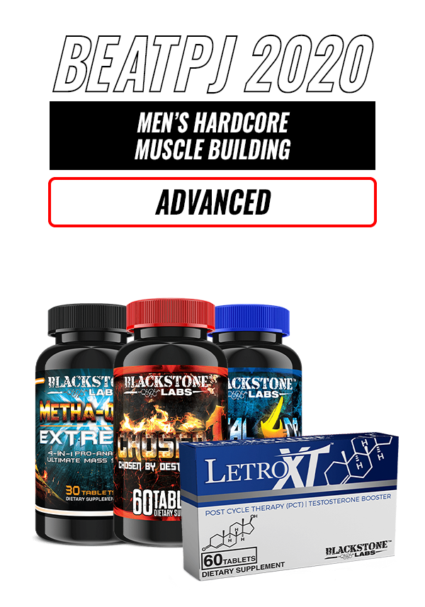 Men's Hardcore Muscle Building Stack - Advanced