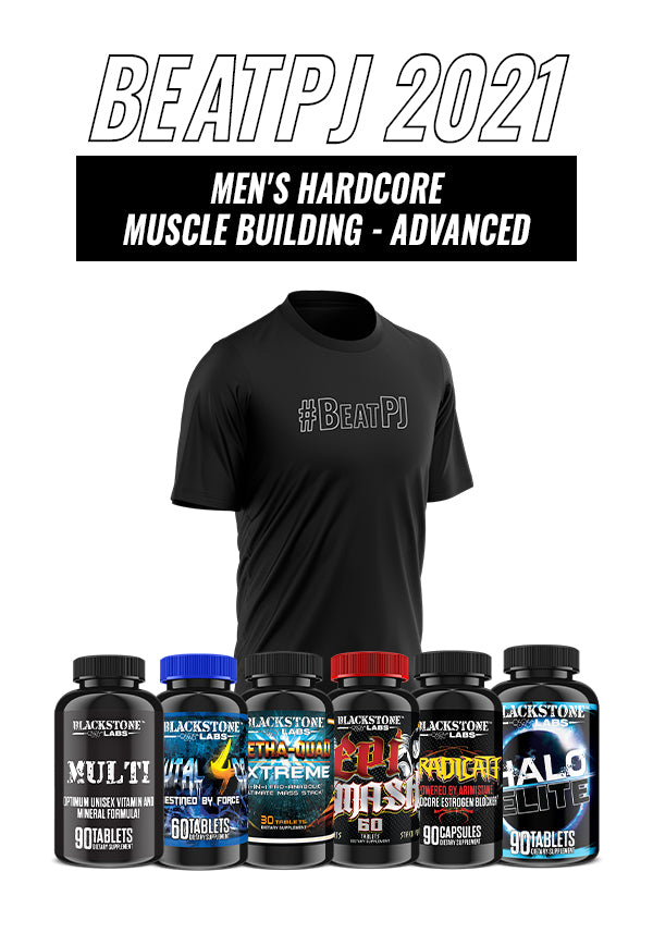 Men's Hardcore Muscle Building - Advanced