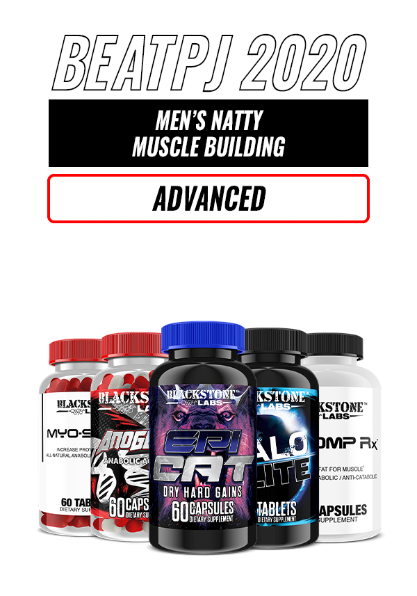 Men's Natty Muscle Building - Advanced