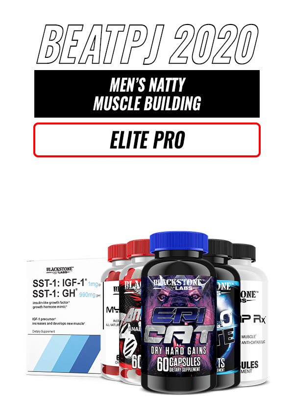 Men's Natty Muscle Building - Elite Pro Level