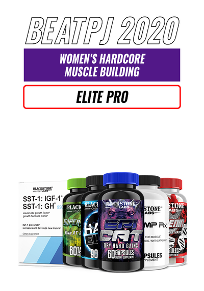 Women's Hardcore Muscle Building - Elite Pro level