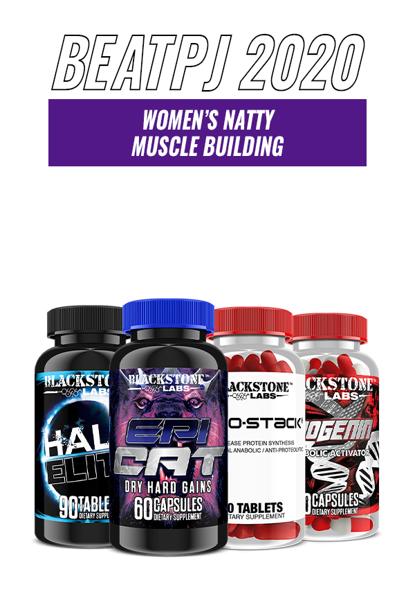 Women's Natty Muscle Building