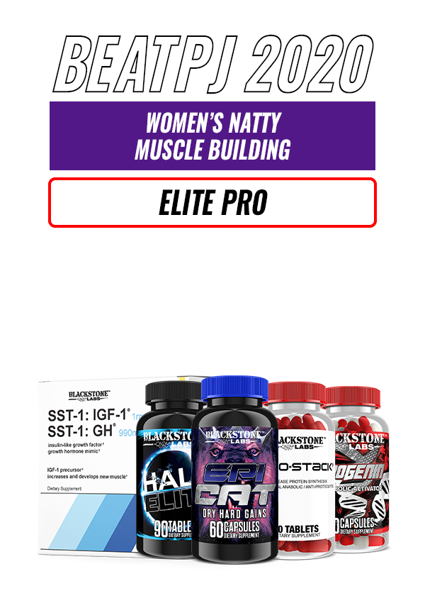 Women's Natty Muscle Building - Elite Pro Level
