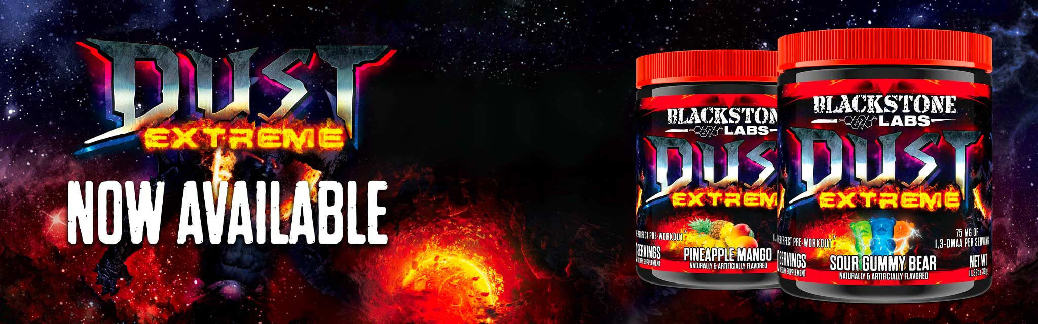 Blackstone Labs | Dust Extreme | Strongest DMAA Pre-Workout