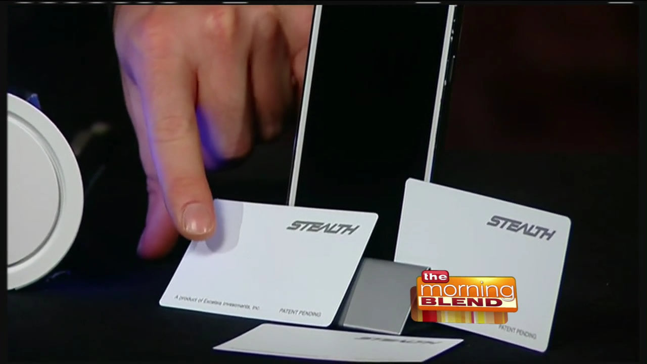 Stealth Card Featured on The Morning Blend (WTMJ), in Milwaukee, WI.